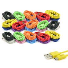 3X 10-COLOR 10FT MICRO USB DATA SYNC POWER CHARGER CABLE LUMIA DROID KINDLE NOOK
