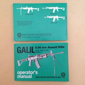 GALIL 5.56 / .223 Original IMI Manual Operating & Maintenance