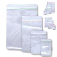 100 Druckverschlussbeutel Plastik Beutel ZIP Beutel Tütchen Verschlussbeutel B3