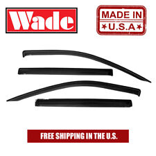 Window Visors In-Channel Fits Chevy Avalanche 2002 - 2006