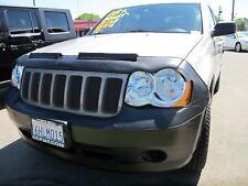 Colgan Front End Mask Bra 2pc. Fits 2008-2010 Jeep Grand Cherokee W/Lic.plate