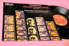 SHOSTAKOVICH LP NUOVA BABILONIA MUSICA DAL FILM OST ITALY 1980 NM ! LAMINATED CO