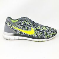 Nike Womens Free 5 0 TR Fit 5 704695-015 Black Volt Grey Running Shoes Size 8.5