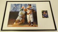 Jim Fregosi Signed Framed 12x18 Photo Display Angels