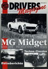 MG Drivers Magazine Frühjahr 1993 Midget US MGB Frogeye Mk I II RWA III Spridget