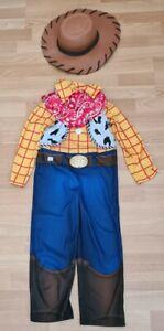 Toy Story Woody Kids Fancy Dress Costume Age 5-6yrs