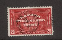 CANADA Sc# E4 Θ used, 20 cent Special Delivery postage stamp cv $18.75