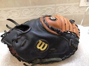 """Wilson A500 PCM 32"""" Baseball Softball Catchers Mitt Right Hand Throw"""