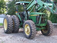 1997 John Deere 7210 Diesel 4Wd w/ Dual whls & 740 Loader, Forks & Bucket, 3k hr
