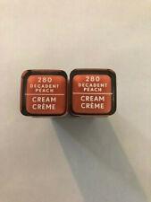 (2) Covergirl Exhibitionist Cream Lipstick, 280 Decadent Peach