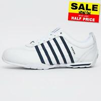 K Swiss Arvee 1.5 Mens Classic Casual Retro Athletic Trainers White