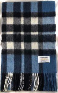 Edinburgh 100% Lammwolle Luxus Schottischer Tartan Schal - Explodierten Thomson