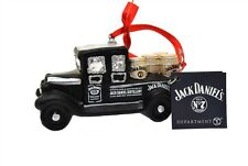 Department 56 Glass Jack Daniels Ornament Vintage Delivery Truck 4052182 NEW