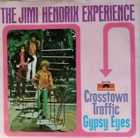 "JIMI HENDRIX EXPERIENCE⚠️Unplayed⚠️1969-7""-Crosstown traffic/Gypsy-59256-Polydor"