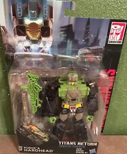 TRANSFORMERS TITANS RETURN DELUXE CLASS FUROS & HARDHEAD FIGURE NEW