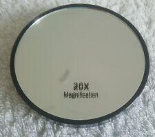 Nuevo Raro Original Espejo de aumento x20 con ventosas Libre P&P