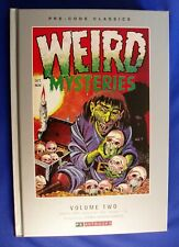 Weird Mysteries Pre-Code Classics vol2. Hard Cover.  1st. Golden Age Horror. New