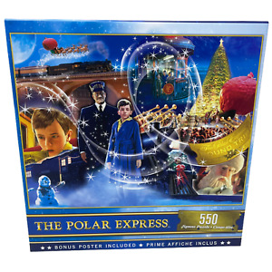 """The Polar Express Puzzle with Bonus Poster Included 550 Pieces 24"""" x 18"""""""
