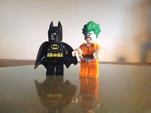 Lego Mini Figures Batman Joker Arkham green hair