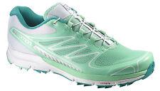 Laufschuh Sportschuh Damenschuh Salomon Sense Pro W, Profeel, grün weiß, Gr. 38