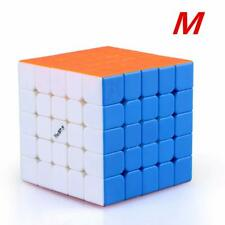 QiYi Valk 5 M 5x5 Stickerless (Strong Magnetic) Magic Cube Stickless Puzzle Toy