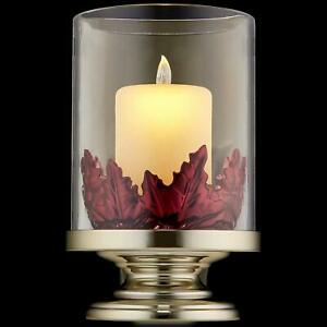 Bath & Body Works PILLAR CANDLE WITH LEAVES NIGHTLIGHT Wallflowers Diffuser NEW