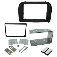 ct23mb11 Mercedes SL R230 2003-12 Doppel DIN Blende Adapter Platte