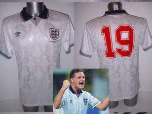 England 1990 Gascoigne Gazza Retro Shirt Jersey BNWT S M L XL XXL 3XL Football 2