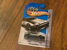 Hot Wheels HW City Toyota AE-86 Corolla Black - new