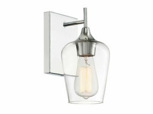 Savoy House Lighting 9-4030-1-11 Octave Wall Sconce, Polished Chrome