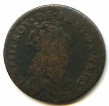 Louis XIV (1643-1715) Liard de France 2ème Type 1657 B Acquigny