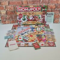 Hasbro Christmas Monopoly Board Game Limited Edition 100% Complete 8+ Xmas