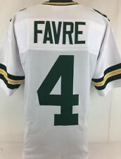 Brett Favre Unsigned Custom Sewn White Football Jersey Size 3XL