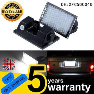 For Range Rover Sport L320 Discovery LR3 LR4 LED License Number Plate Light Bulb