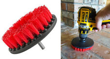 Tough Drill Brush For Valeting Detailing Bathroom Tile Grout Car Carpet Cleaning