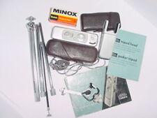 MINOX B Miniature Film Camera + Case + Tripod + Flash Kit