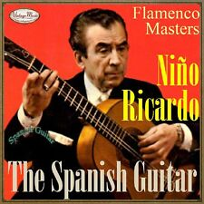 NIÑO RICARDO CD Spanish Guitar / Spain Guitar Baile Flamenco Guitarra Master