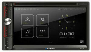 "Blaupunkt OHIO18 2 DIN 6.9"" Touchscreen Car DVD USB AM FM Receiver w/ Bluetooth"