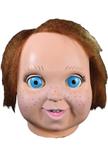 Halloween Child's Play 2 - Good Guy Doll Chucky Adult Latex Mask Costume NEW