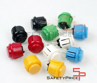 Pulsador Arcade Japones 24 mm Bartop Raspberry Stick Style Sanwa Pushbutton