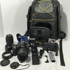 Nikon D3100 Camera Lens Bag Accessories Outfit Bundle
