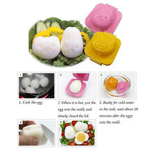 2Pcs Boiled Egg Rice Molds Funny Kitchen Tools Kids Bento Maker Gadgets