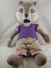 Fiesta Violet Girl Wolf  plush Scoops the Cat clothes  #46223