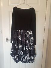 PHASE EIGHT black and white floral dress size 16
