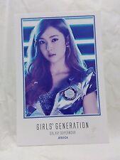 SNSD GIRLS GENERATION JESSICA GALAXY SUPERNOVA OFFICIAL JAPAN POSTCARD/PHOTOCARD