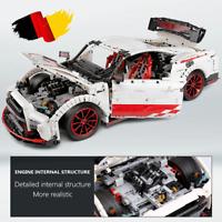 Custom Technic GTR R35 42056 42083 Bausteine Blöcke MOC 3408 Teile 42065 42110 n