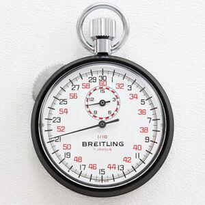NOS Breitling Ref. 1216 Sprint Chronograph 7 Jewel Movement Pocket Timer