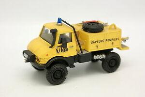 Kit Resin Set Type Firetech 1/50 - Mercedes Unimog 406 Firefighters Forest Yel