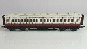 Ratio L&NWR 3rd Class Coaches x3 - Kit built, hand painted, unboxed