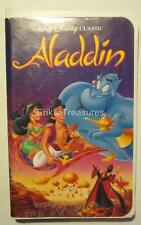 Walt Disney Aladdin Black Diamond The Classics VHS OPENED RARE!
